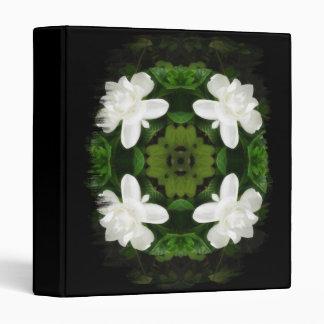 Beautiful Gardenia 5 Kaleidoscope 1 3 Ring Binders