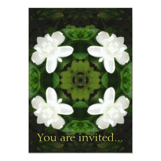 Beautiful Gardenia 5 Kaleidoscope 1 Card