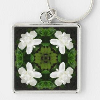Beautiful Gardenia 5 Kaleidoscope 1 Keychain
