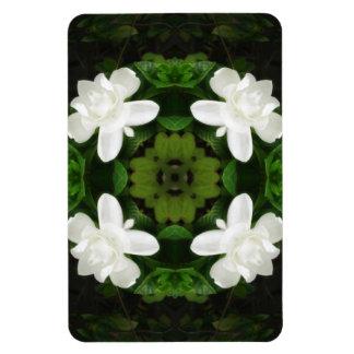 Beautiful Gardenia 5 Kaleidoscope 1 Magnet
