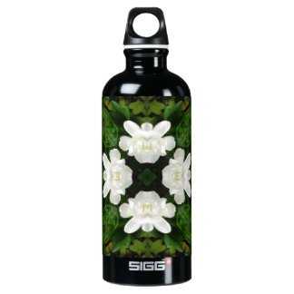 Beautiful Gardenia 5 Kaleidoscope 2 Aluminum Water Bottle