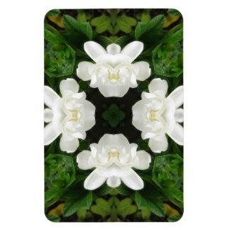 Beautiful Gardenia 5 Kaleidoscope 2 Magnet