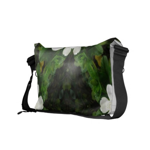 Beautiful Gardenia 5 Kaleidoscope 3 Courier Bag
