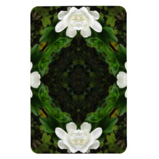 Beautiful Gardenia 5 Kaleidoscope 3 Magnet