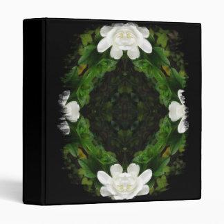 Beautiful Gardenia 5 Kaleidoscope 3 Vinyl Binders
