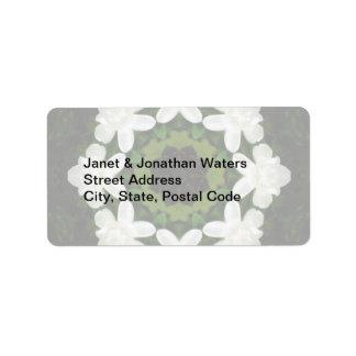 Beautiful Gardenia 5 Kaleidoscope 4 Label