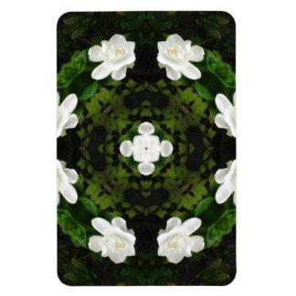 Beautiful Gardenia 5 Kaleidoscope 5 Magnet