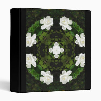 Beautiful Gardenia 5 Kaleidoscope 5 Vinyl Binder