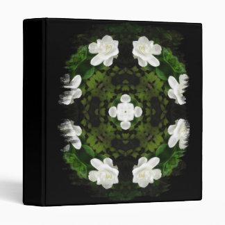 Beautiful Gardenia 5 Kaleidoscope 5 Vinyl Binders