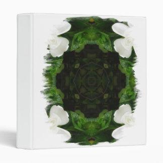 Beautiful Gardenia 5 Kaleidoscope 6 3 Ring Binders