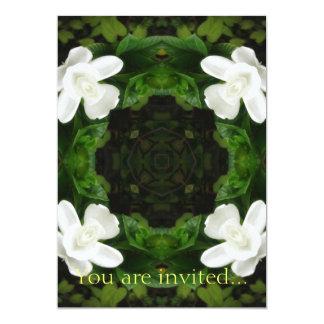 Beautiful Gardenia 5 Kaleidoscope 6 Card