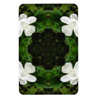 Beautiful Gardenia 5 Kaleidoscope 6 Magnet