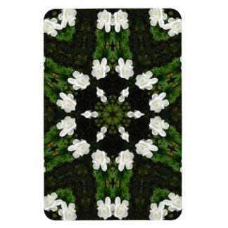 Beautiful Gardenia 5 Kaleidoscope 7 Magnet