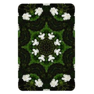 Beautiful Gardenia 5 Kaleidoscope 8 Magnet