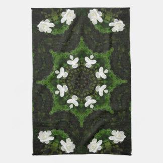 Beautiful Gardenia 5 Kaleidoscope 8 Towel