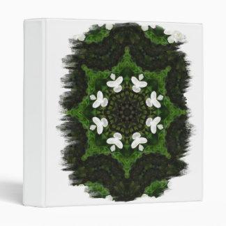 Beautiful Gardenia 5 Kaleidoscope 8 Vinyl Binder