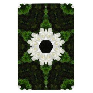 Beautiful Gardenia 5 Kaleidoscope 9 Magnet