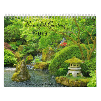 Beautiful Gardens 2013 Calendar