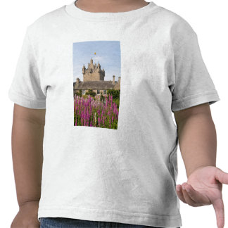 Beautiful gardens and famous castle in Scotland 2 Tees