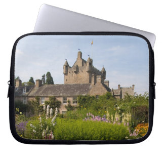Beautiful gardens and famous castle in Scotland Laptop Sleeve