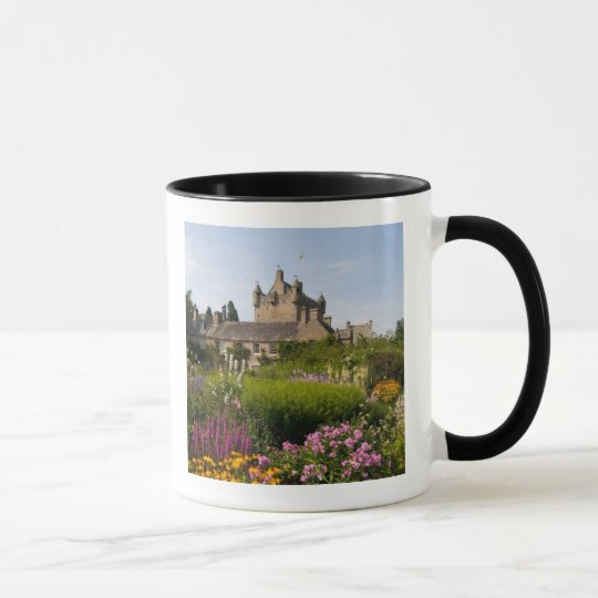 Beautiful gardens and famous castle in Scotland Mug