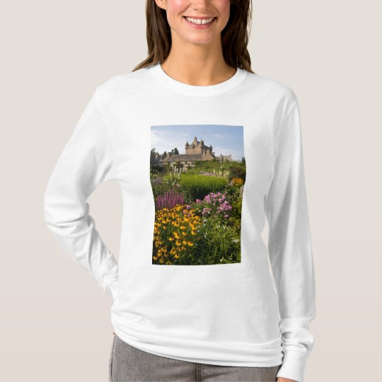 Beautiful gardens and famous castle in Scotland T-Shirt