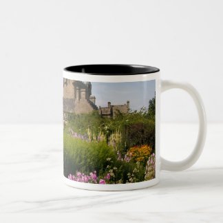 Beautiful gardens and famous castle in Two-Tone coffee mug