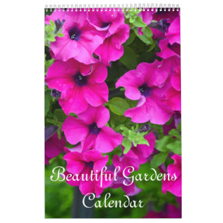Beautiful gardens and flowers calendar