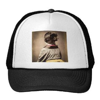 Beautiful Geisha Profile from Back Vintage Japan Trucker Hat