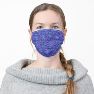 Beautiful geometric patern - cloth face mask