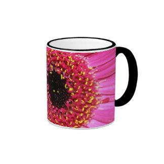 beautiful Gerbera flower mug