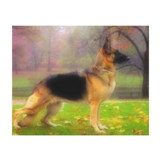Beautiful German Shepherd Gallery Wrapped Canvas