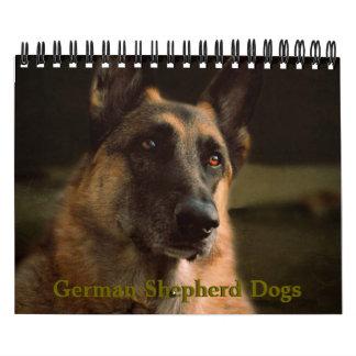 Beautiful German Shepherd Dog Calendar