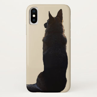 Beautiful German Shepherd Dog iPhone X Case