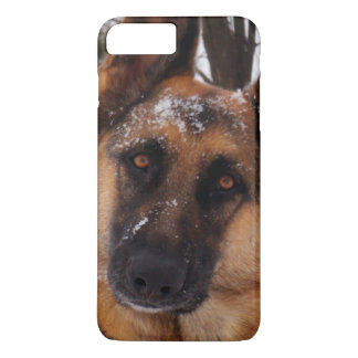 Beautiful German Shepherd in the Snow iPhone 7 Plus Case