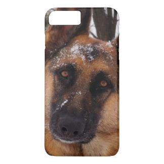 Beautiful German Shepherd in the Snow iPhone 7 Plus Case