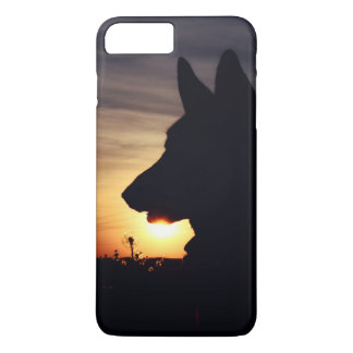Beautiful German Shepherd in the Sunset iPhone 7 Plus Case