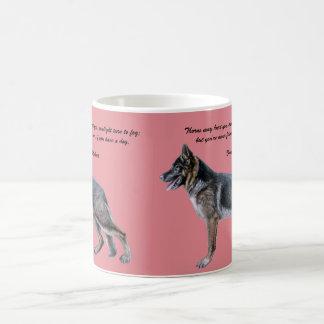 Beautiful German Shepherd Mug with Poem