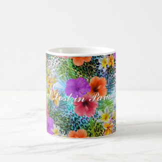 """Beautiful """"Get lost in Paradise"""" custom quote Classic White Coffee Mug"""