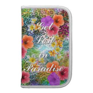 """Beautiful """"Get lost in Paradise"""" custom quote Folio Planner"""