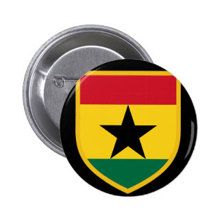 Beautiful Ghana Flag 2 Inch Round Button