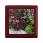 Beautiful Gift Box, Keepsake - Garden Flowers