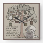 Beautiful Gift Square Wall Clock
