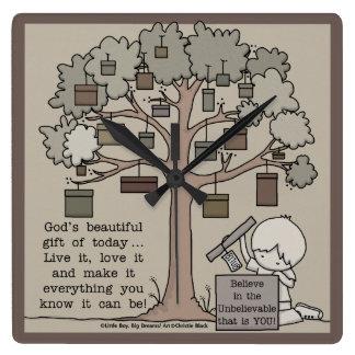 Beautiful Gift Square Wall Clock