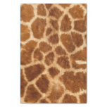 Beautiful Giraffe Print Tissue Paper at Zazzle