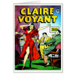 Beautiful Girl and Wise Guys Comic Greeting Cards