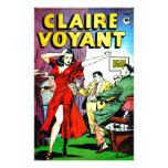 Beautiful Girl and Wise Guys Comic Personalized Stationery