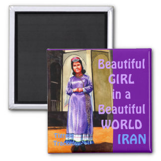 Beautiful Girl in a Beautiful World, Iran Magnet