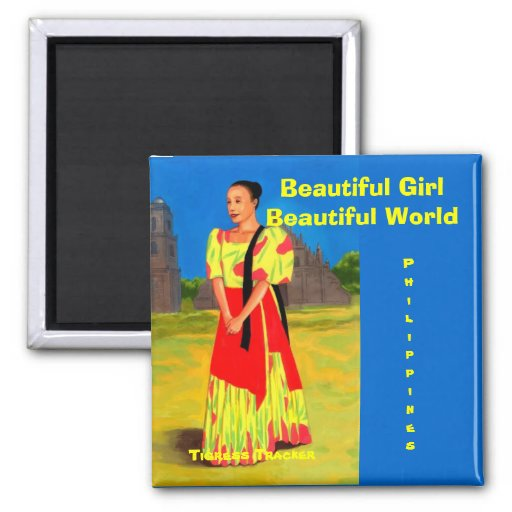 Beautiful Girl in a Beautiful World, Philippines Magnets