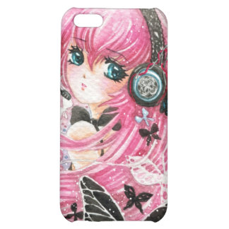 Beautiful girl with butterflies - Iphone4/4s case iPhone 5C Cases